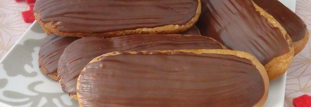 Langues de pain d'épices ou lebkuchezunge au chocolat - bredele