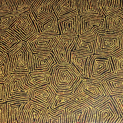 George Ward Tjungurrayi, un peintre majeur du mouvement contemporain aborigène