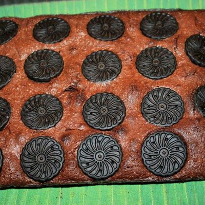 BROWNIES AUX OREOS