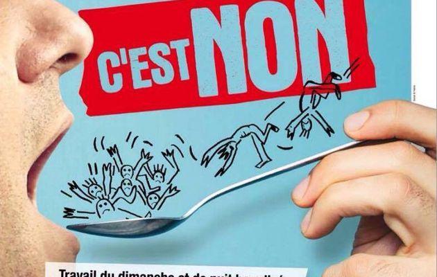 Régression sociale sauce Macron c'est Non