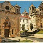 MAGNIFICA POSTAL DE IGLESIA DE SAN SALVADOR COIMBRA (PORTUGAL)