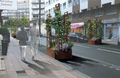 Des nouveaux aménagements pour l'attractivité de la rue Courthardy