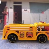 FIRE EATER HOT WHEELS 1/64 - CAMION POMPIER US - car-collector.net