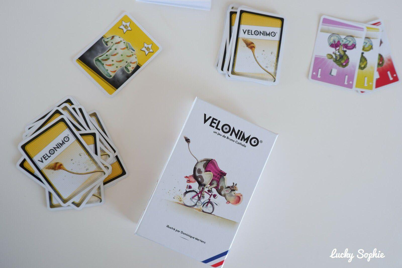 Vélonimo, un jeu de cartes simple, drôe et addictif dès 7 ans.