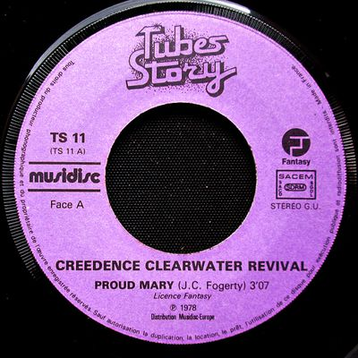 Creedence Clearwater Revival - Proud Mary - 1969