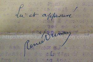 """Renée Dunan """"Le Sexe et le poignard : La vie ardente de Jules César"""" (Manuscrit - s.d.)"""