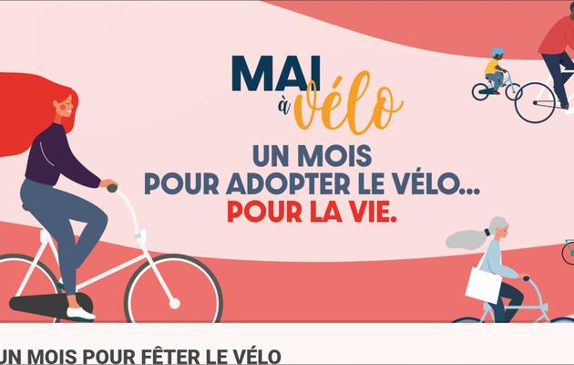 En mai, ce sera la fête du vélo...on espère!