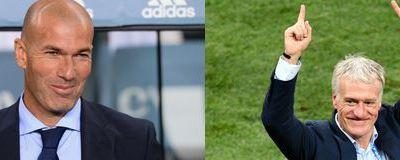 Entraîneur de l'année : Zidane ou Deschamps?