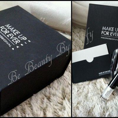 L'heureuse gagnante de la Make Up For Ever Box est...