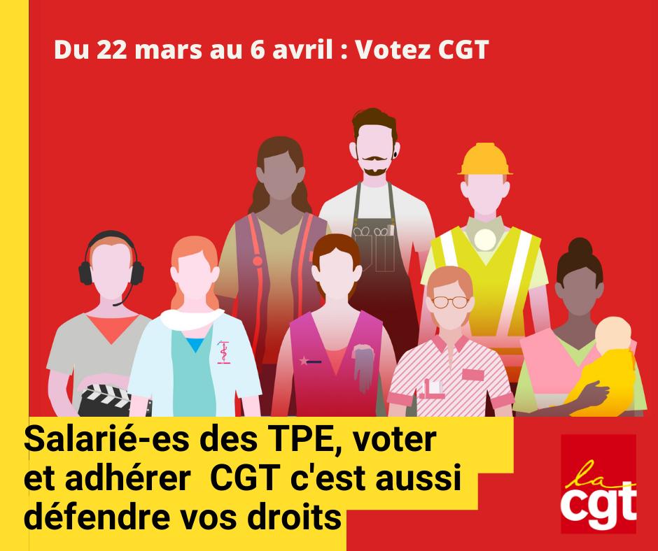 Compiègne, TPE je vote CGT