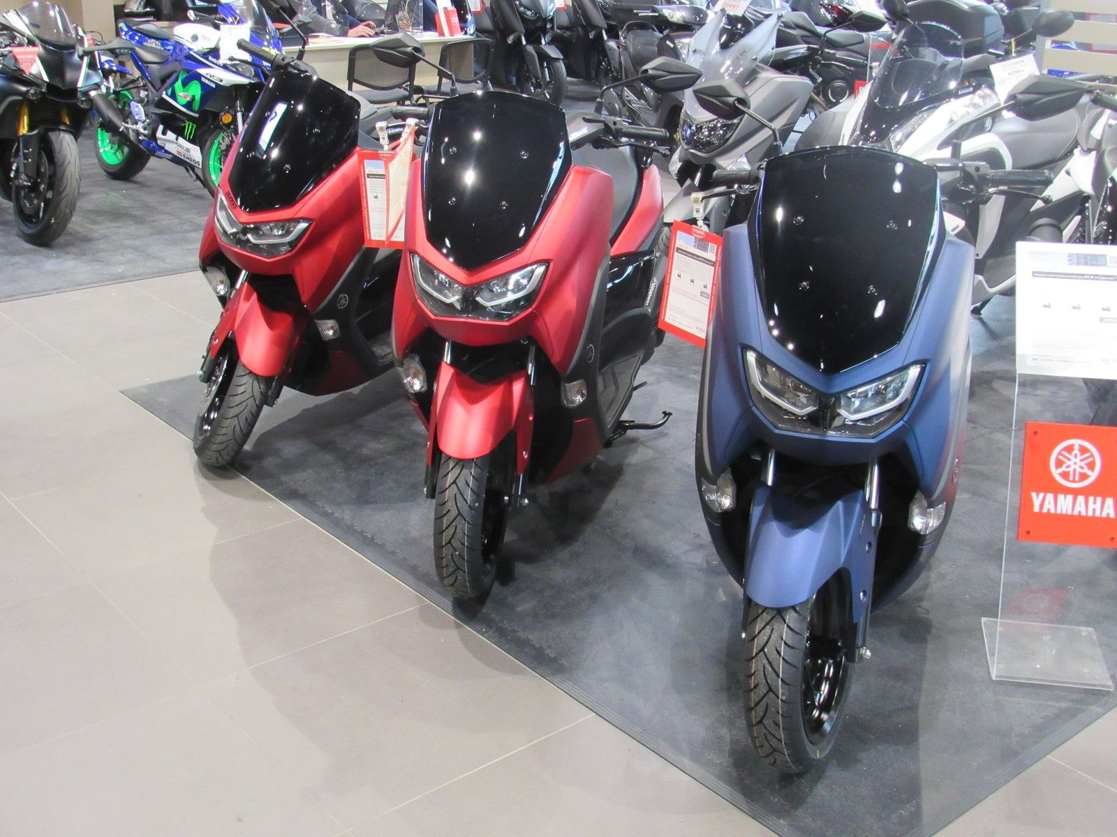 essai scooter urbain de chez yamaha édition 2021 le Nmax 125