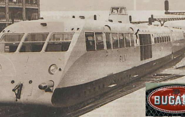 The Bugatti railcar called thoroughbred!