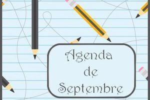 Agenda de septembre, une exposition de broderie