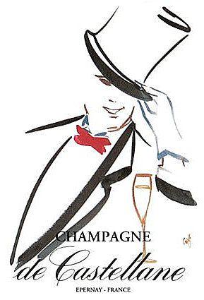 PUBLICITES :  LES  BELLES  AFFICHES  DE  CHAMPAGNES...    (PARTIE 1)