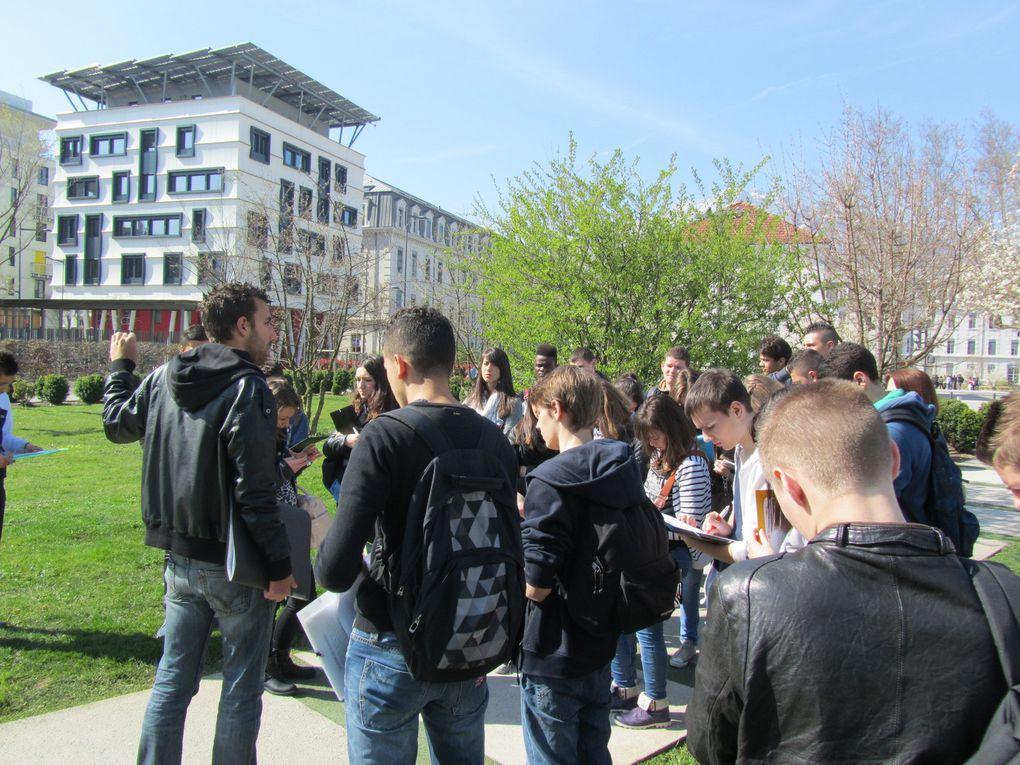 visite de l'écoquartier de Bonne