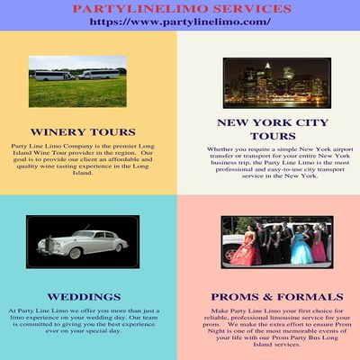 Best NYC Party Bus Services with Party Line Limo