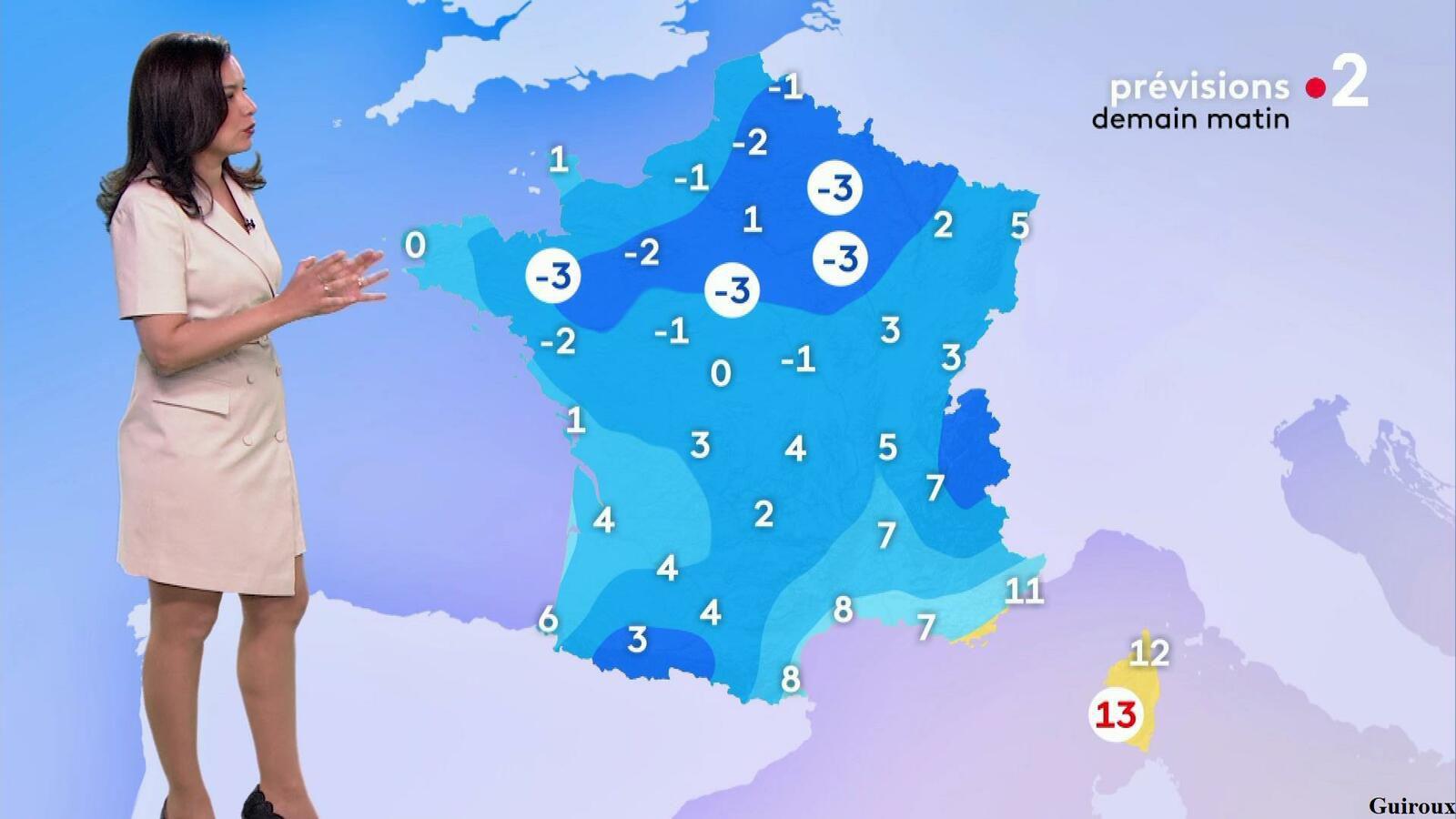 Anaïs Baydemir 11/04/2021 Journaux météo du soir