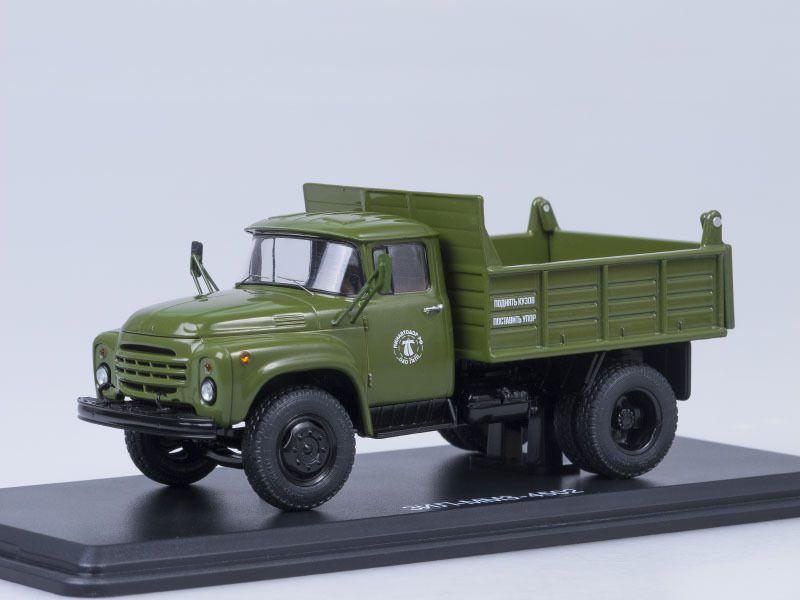 SSM1126 ZIL-MMZ-4502 dumper truck /khaki/