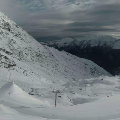 Pyrénées : un mardi matin tout en blanc... au Cirque du Lys à Cauterets