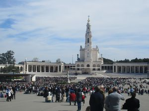 Le sanctuaire de Fatima (Portugal)