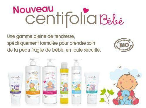 Nouvelle gamme bébé bio Centifolia [concours inside]