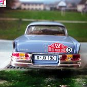 FASCICULE N°124 MERCEDES 220 SE MONTE CARLO 1960 IXO 1/43. - car-collector.net