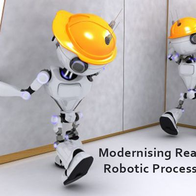 Modernising Real Estate using Robotic Process Automation