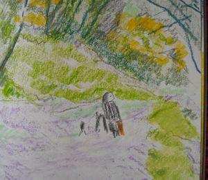Petitepromenade la long du Steir rivière de Quimper