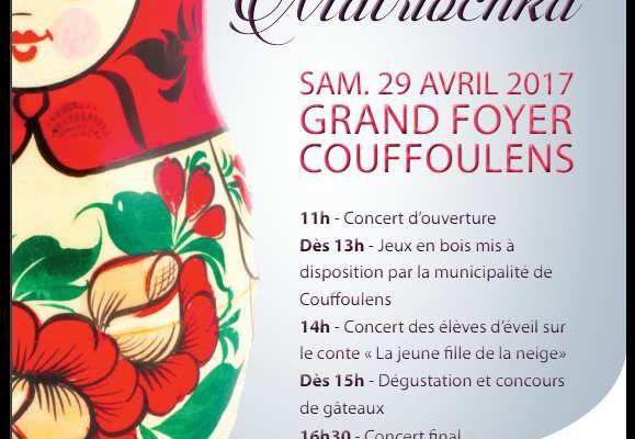 samedi 29 avril, concert russe à Couffoulens