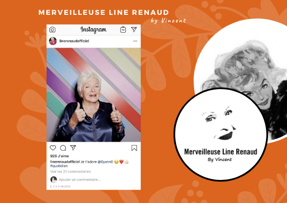 INSTAGRAME LINE: Line dans Quotidien