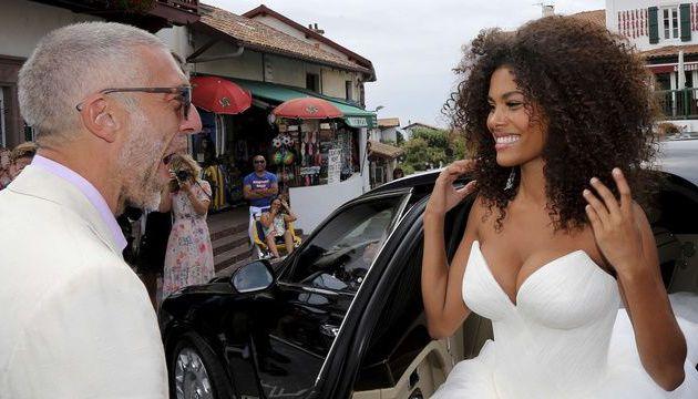 «Femme objet pornifiée», «mariage machiste», «sexclavagiste»… La mairie où se sont mariés Vincent Cassel et Tina Kunakey a été vandalisée