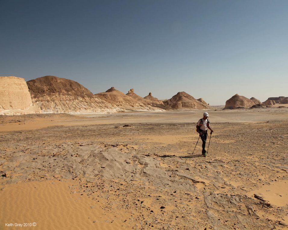 Ocean Floor Race (1^ ed.). Nel 2012, 160 miglia in tappa unica attraverso il Western Egyptian Desert (Il Deserto Bianco)