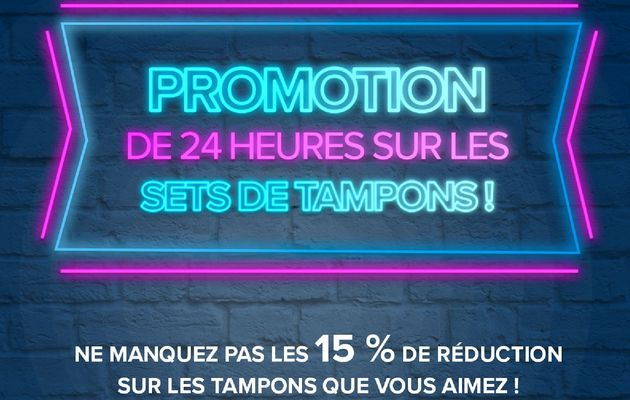 Avis de promotion flash !