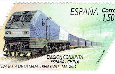 """Yiwu - Madrid, le """" train de la soie '' le plus long du monde qui ne s'essouffle pas"""