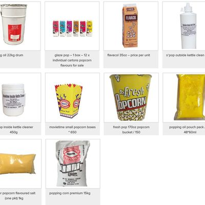 Get Popcorn Accessories Of Your Choice With Online Popcorn Suppliers
