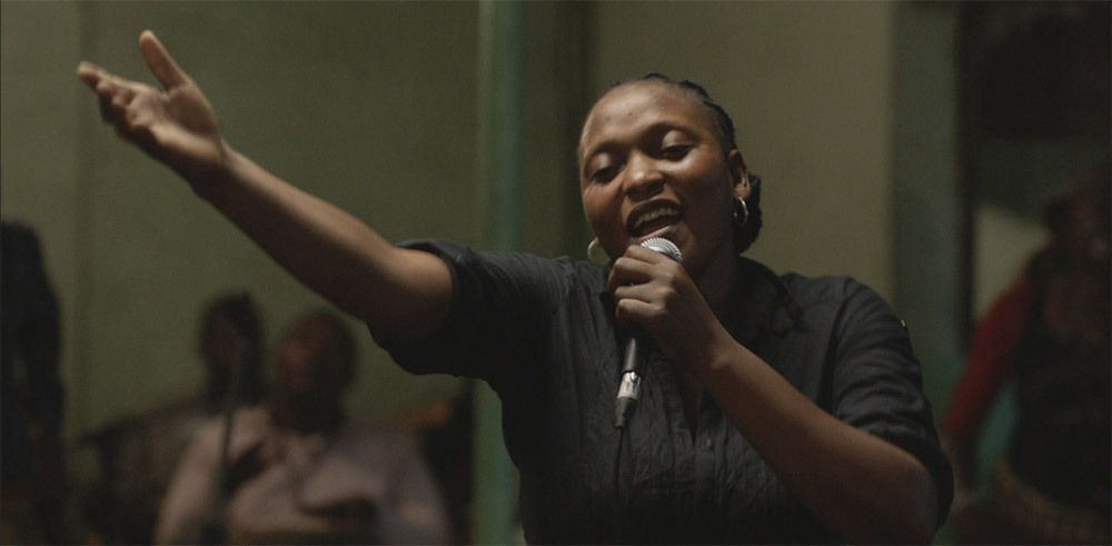 Felicite the Congolese singer.