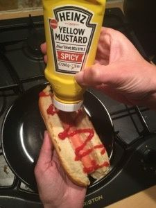 The perfect American Hot Dog Bun