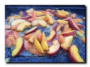 Fruits grillés à la plancha