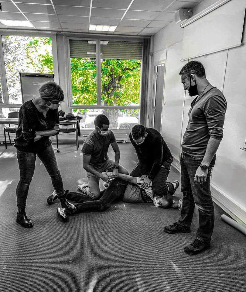Formation de la gestion de l'agressivite et de la violence à l'hôpital de Pontchaillou