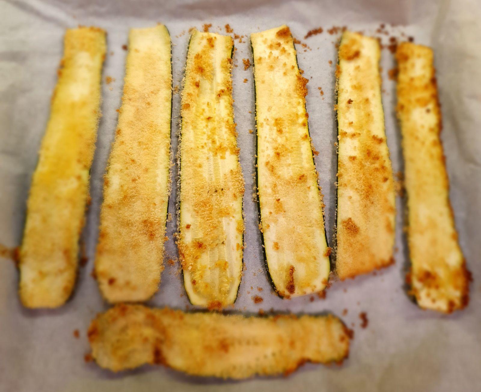 Courgettes roulées au thon