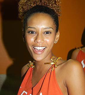 Actrice brésilienne  de série TV