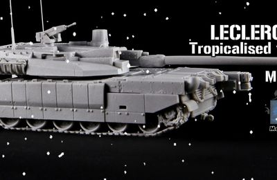 Char Leclerc au 1:72 (Model Miniature)