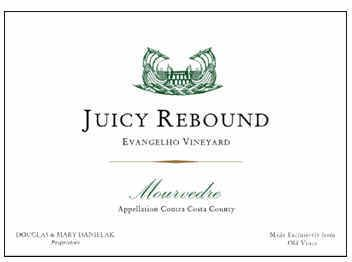 Juicy Rebound, Evangelho Vineyard, Mourvedre, Contra Costa Country, Napa, 2011