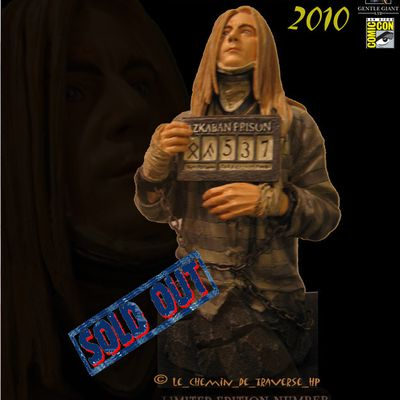 Buste / bust Lucius Malfoy - 550ex - GENTLE GIANT - IN STOCK