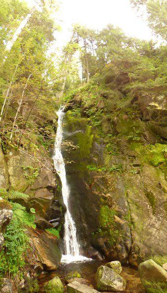 Tourisme : La cascade du Rudlin dans les Vosges
