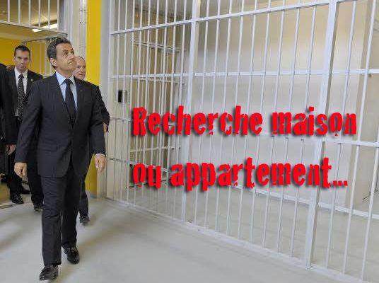 Humour du jour ; Sarkozy recherche maison ou appartement