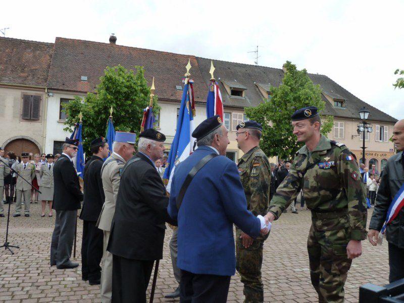 Cérémonie du 8 mai 2014 à Neuf-Brisach