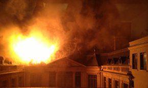 Nombreuses questions autour de l'incendie de l'hôtel Lambert