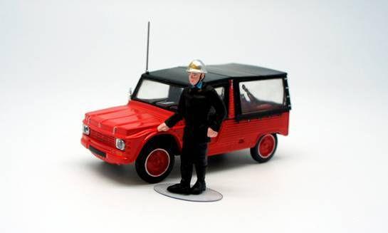 Citroën Méhari au 1/43  (Eligor)
