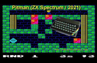 ZX Spectrum - Présentation du remake de Pitman (Catrap) - 2021